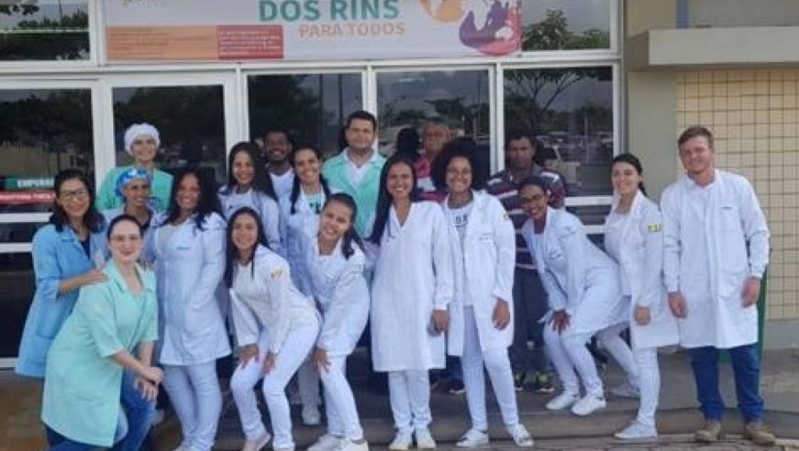 Alunos de Enfermagem da FIC participam de ações em comemoração ao Dia Mundial do Rim